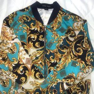 Lightweight Pattern Jacket